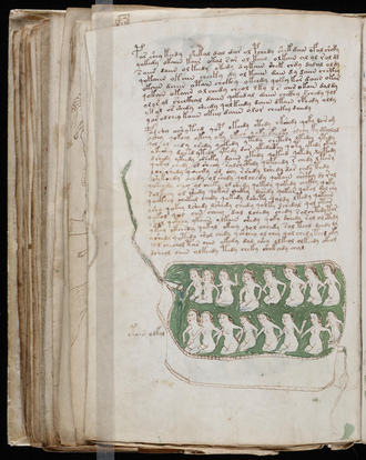 Ilustracin del Manuscrito Voynich