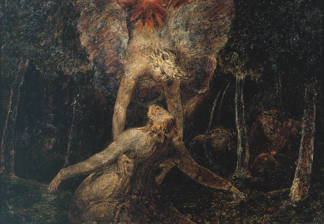 William Blake, The agony in the garden c. 1799