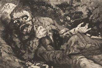 Soldado Herido de Otto Dix