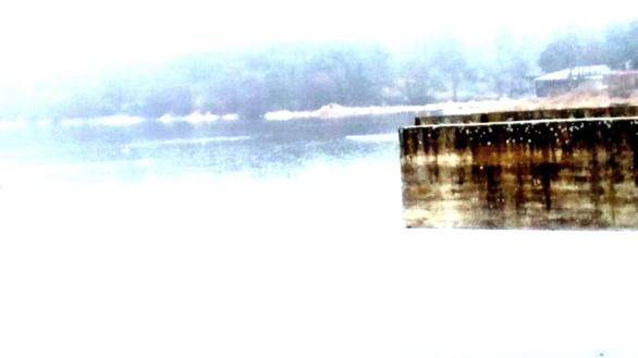 Saledizo. Fotografía de Olmo Z. de la serie Hormigón e invierno. Sin fecha.