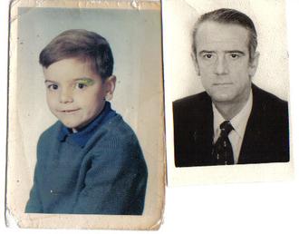 Mi padre (el de más edad, claro) y yo