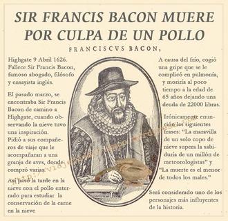 Sir Francis Bacon 1626
