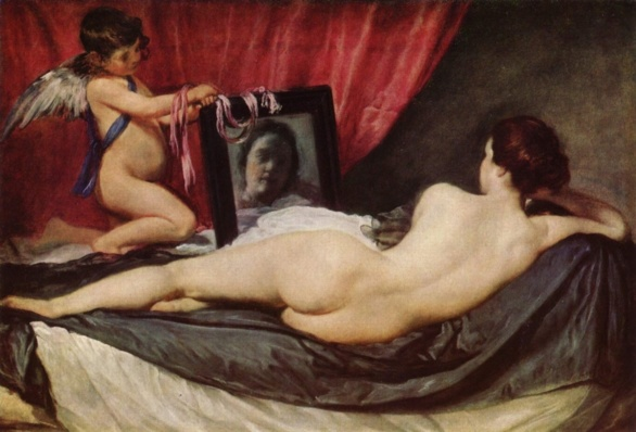 La Venus del espejo. Diego Velázquez