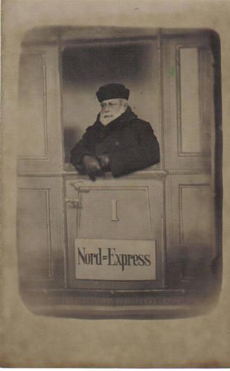 Fotografía Postal realizada en Rusia en 1906 (aprox.)