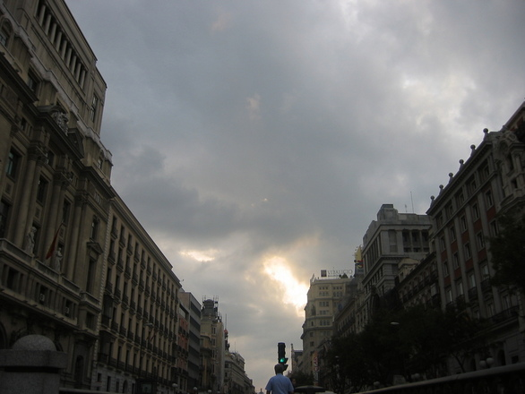 Autor: Fernando Loygorri. Calle de Alcalá. Madrid