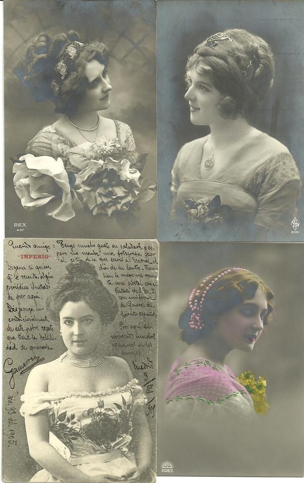 Recados de Escribir 1905 (Anversos)