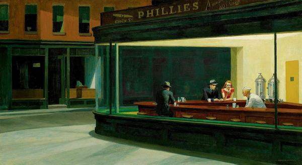 Nighthawks 1942, Edward Hopper