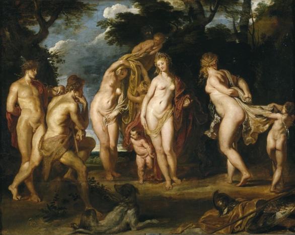 El Juicio de Paris de Rubens 1606