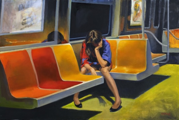 Q Train de Nigel van Wieck 2014