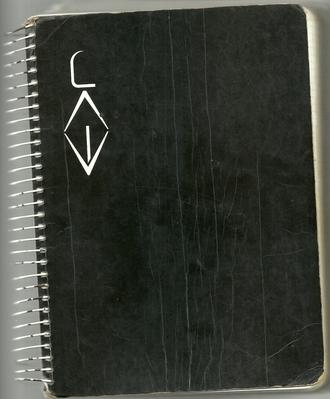 Tapa del Cuaderno Negro