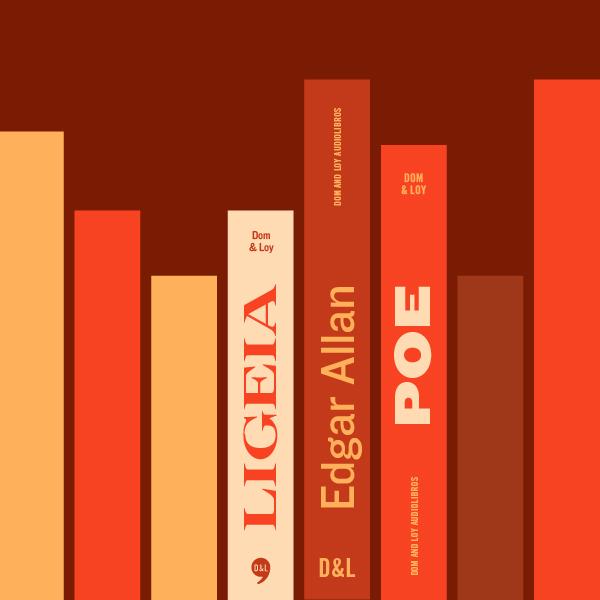 Portada de Ligeia. Editado por Dom & Loy