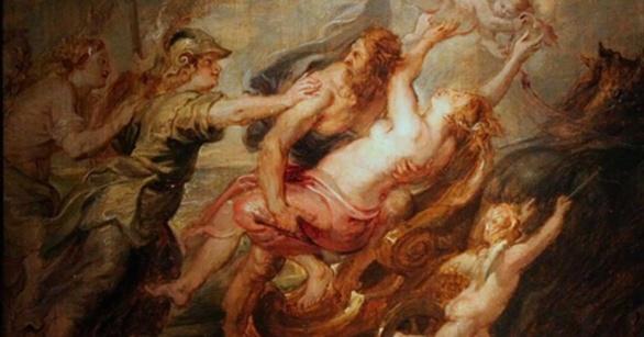 El rapto de Proserpina de Rubens 1635
