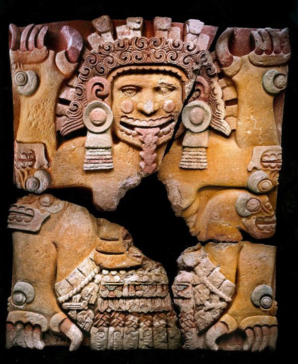 La diosa azteca Tlatecuhtli