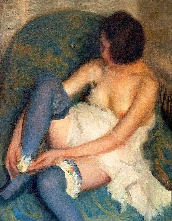 Tonos azules de Alfredo Protti 1926