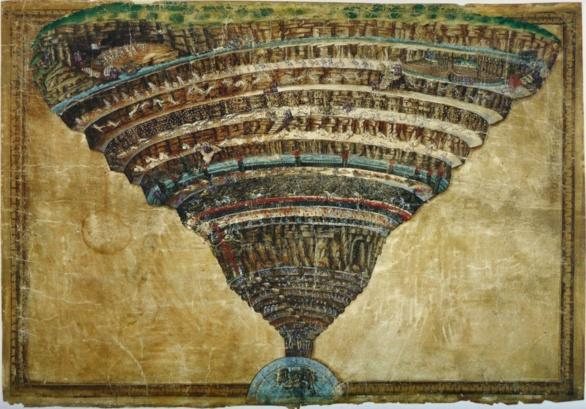 El Infierno de Sandro Botticelli ca.1485