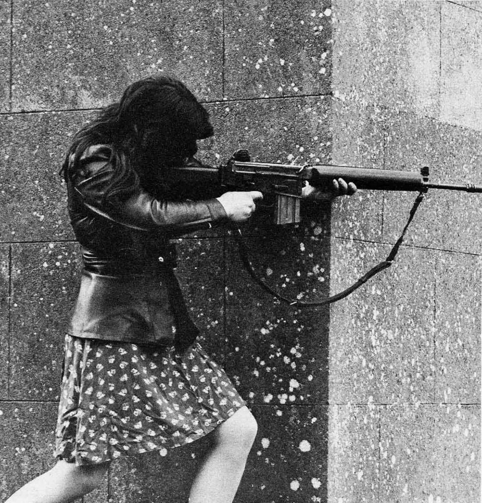 Combatiente del I.R.A. 1971