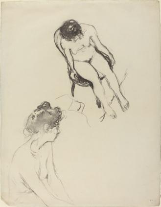 Estudio Dos desnudos femeninos de Edouard Vuillard ca. 1903