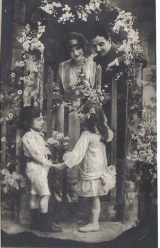 Recado de escribir de mi abuelo Ángel. ca. 1906