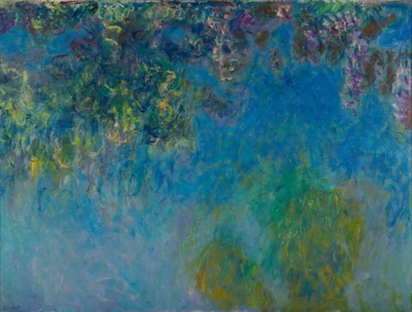 Glicinias Claude Monet 1925