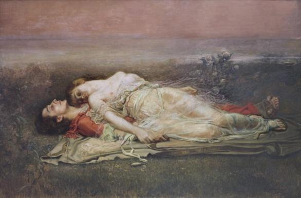 Tristán e Isolda (La Muerte) de Rogelio Egusquiza 1910