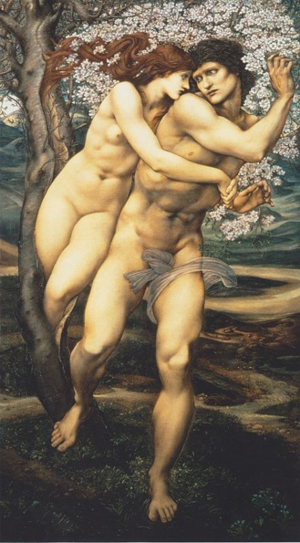 Filis y Demofonte de Edward Burne-Jones 1881