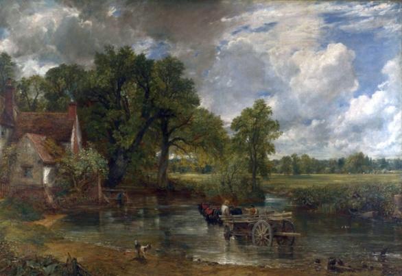 El carro de heno de John Constable 1821