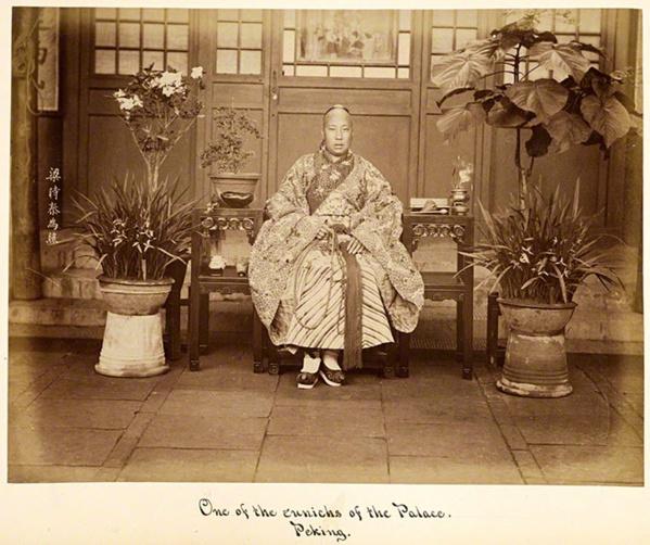 Eunuco de Palacio. Beijing. Siglo XIX