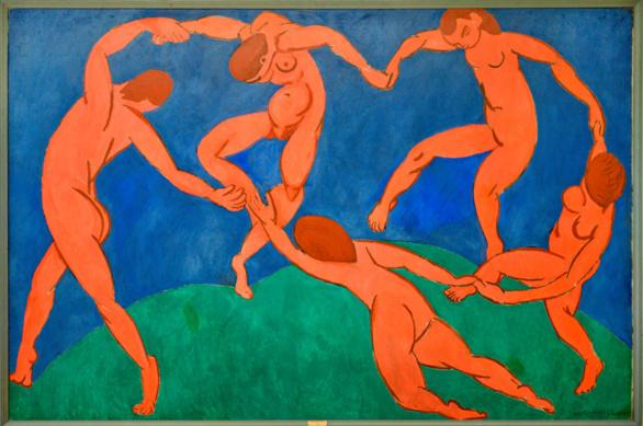 La Danza de Henri Matisse. 1906