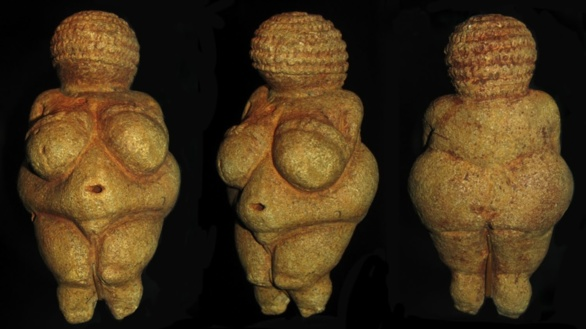 Diosa de Willendorf. ca. 21.000 años antes de la era común