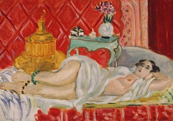 Odalisca. Armonía en rojo. Henri Matisse. 1926