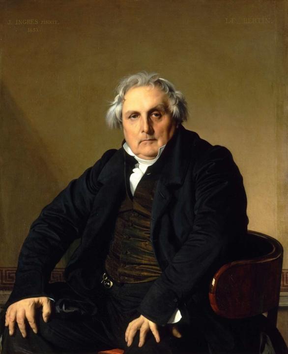 Monsieur Louis François Bertin. Dominique Ingres. 1832