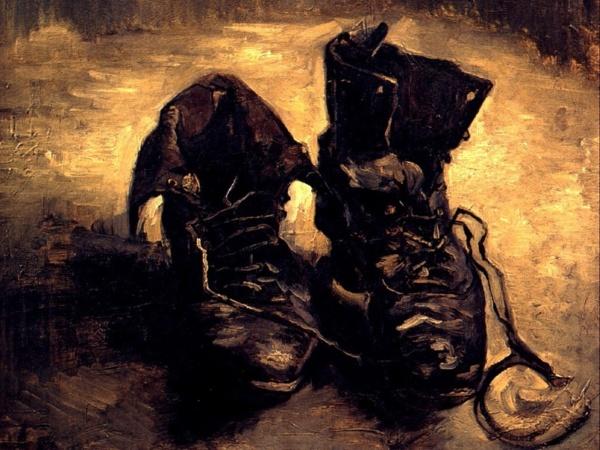 Un par de zapatos viejos. Vicent van Gogh