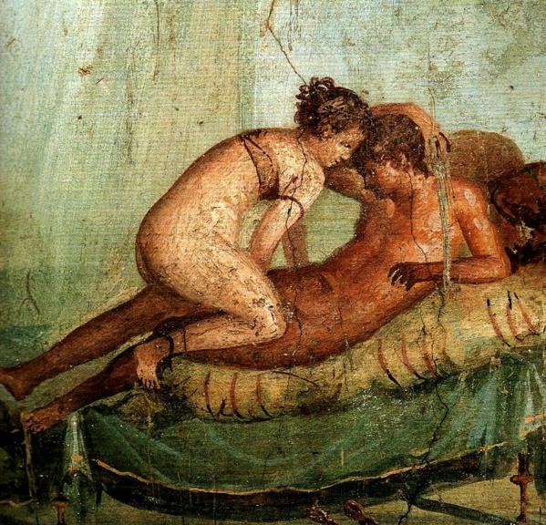 Fresco de Pompeya ca. siglo II a.C.