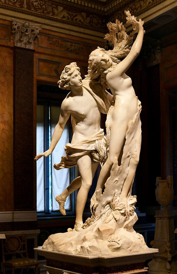 Apolo y Dafne de Bernini 1622-1625