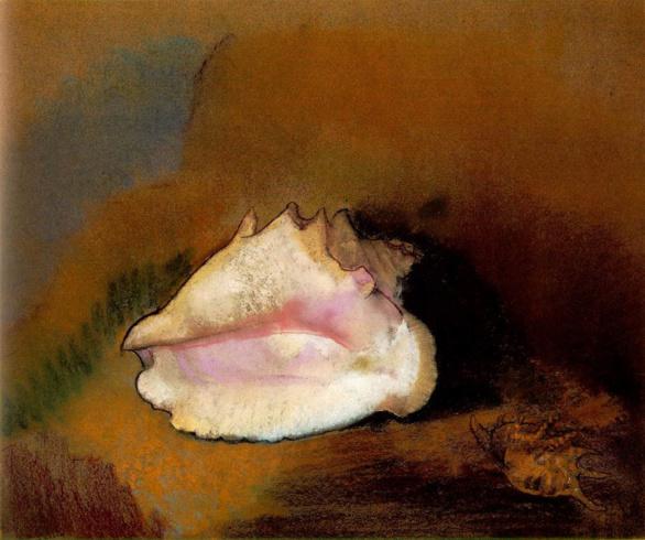 Le coquillage de Odilon Redon. 1912