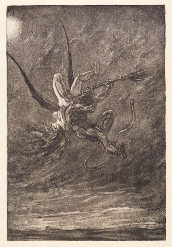 L'enlèvement de Felicien Rops. 1882