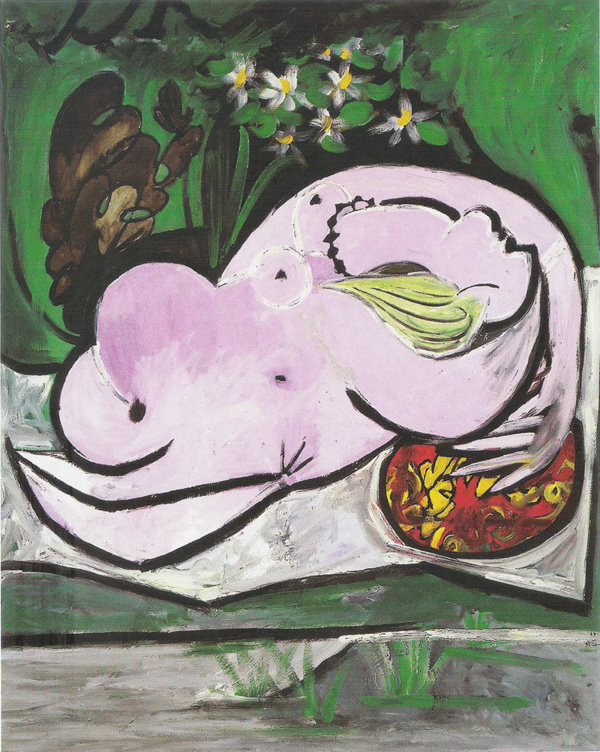 Desnudo en un jardín. Pablo PIcasso. 1934