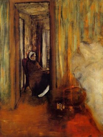 La Nurse Edgar Degas (1872)