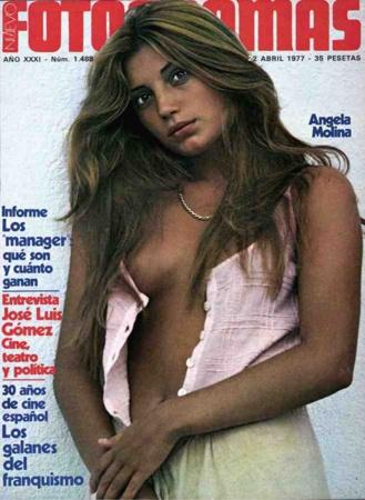 Portada Fotogramas de abril de 1977