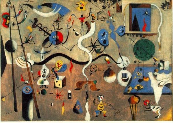 El carnaval del arlequín de Joan Miró 1925