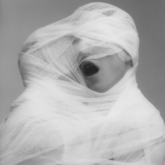 White Gauze de Robert Mapplethorpe 1984 (detalle)