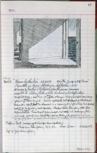 Apuntes de Rooms by the sea de Edward Hopper