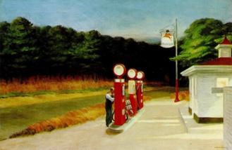 Gasolina. Edward Hopper 1940