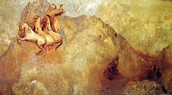 El carro de Apolo de Odilon Redon
