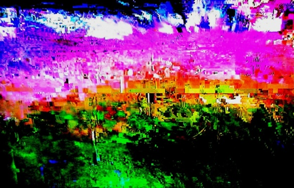 Distorsión 01. Fotografía de Olmo Z. Mayo 2015