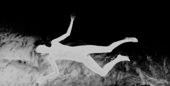 Cenit/Nadir. Tratamiento fotográfico de Olmo Z. de un fotograma de Ninfomaniac película de Lars von Trier. Julio 2015