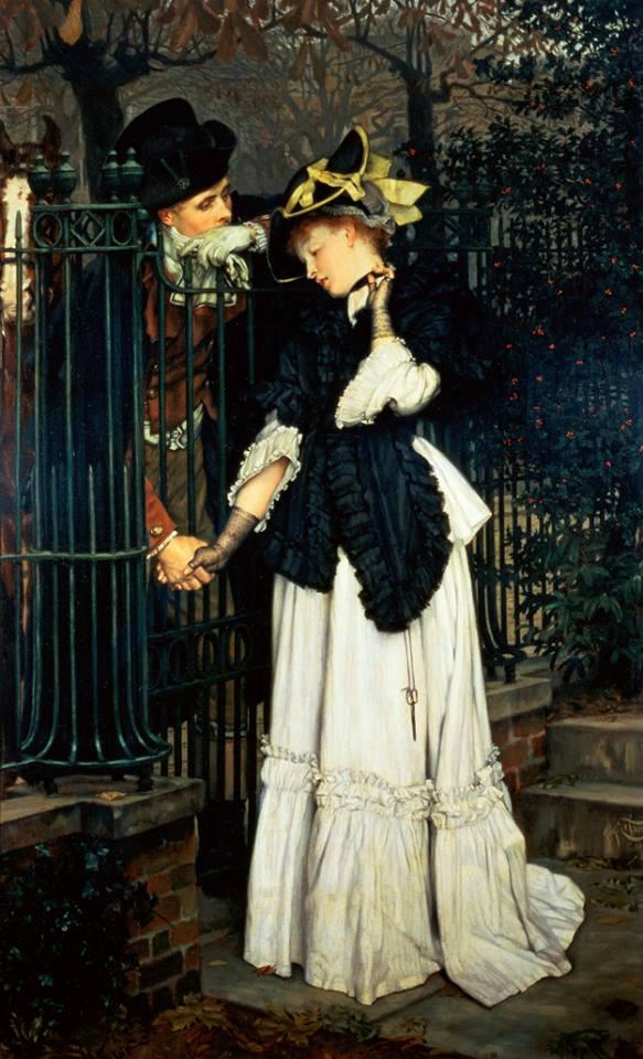 Les Adieux. James Tissot (1871)