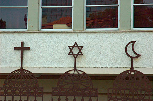 Tres símbolos para un mismo mito