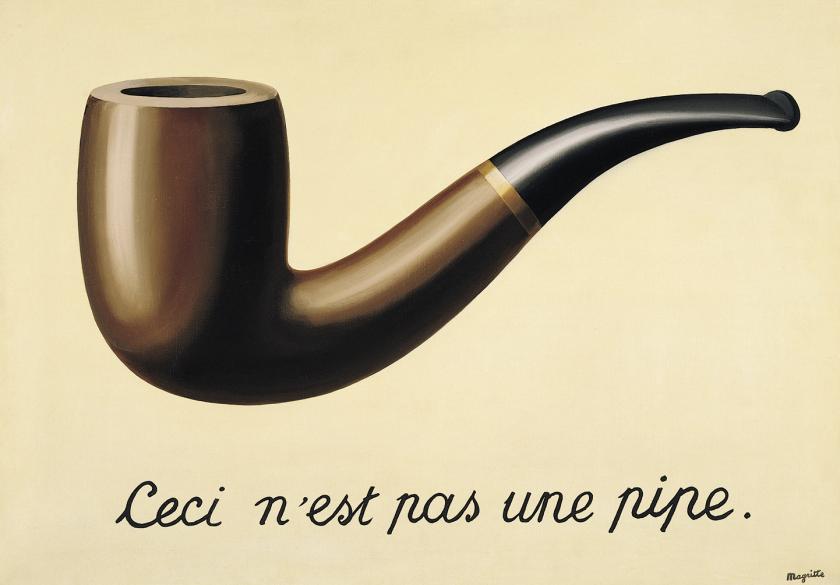 Ceci n'est pas une pipe René Magritte 1929