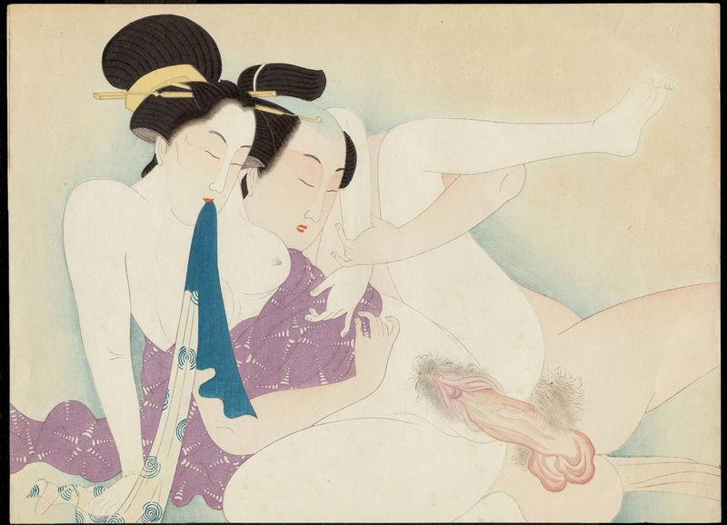 Arte erótico japonés